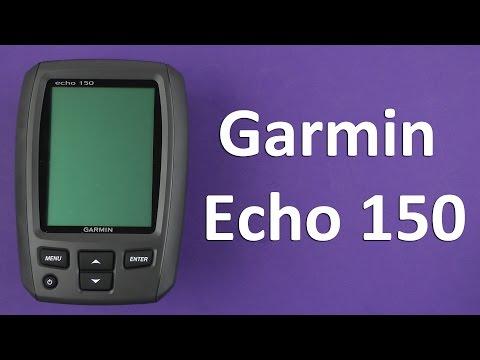 Распаковка Garmin Echo 150