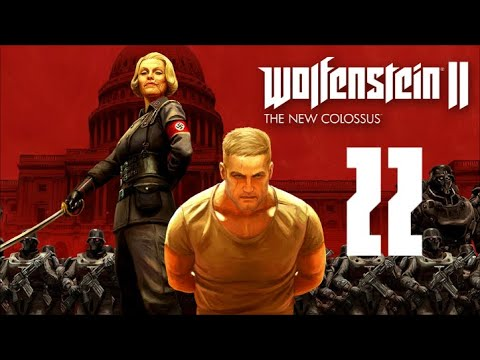 Wolfenstein II: The New Colossus Part 22 - Glitched Ghost Voices |