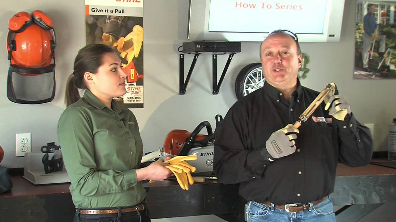 How To Sharpen Your Chainsaw Chain Youtube