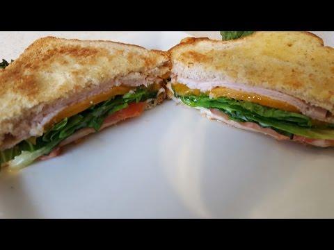 Air Fryer Turkey & Cheese Sandwich Cooks Essentials 5 3qt AIRFRYER