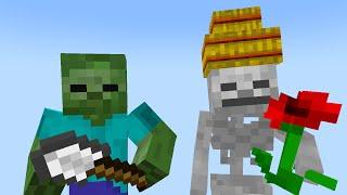 Monster School: Gardening (Minecraft Animation)