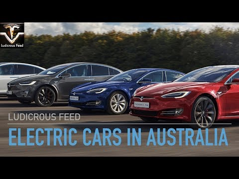 Electric Cars currently available in Australia (Oct 2018)