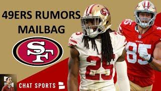 49ers Rumors Mailbag: Richard Sherman's Future, Jerick McKinnon's Role & George Kittle Extension?