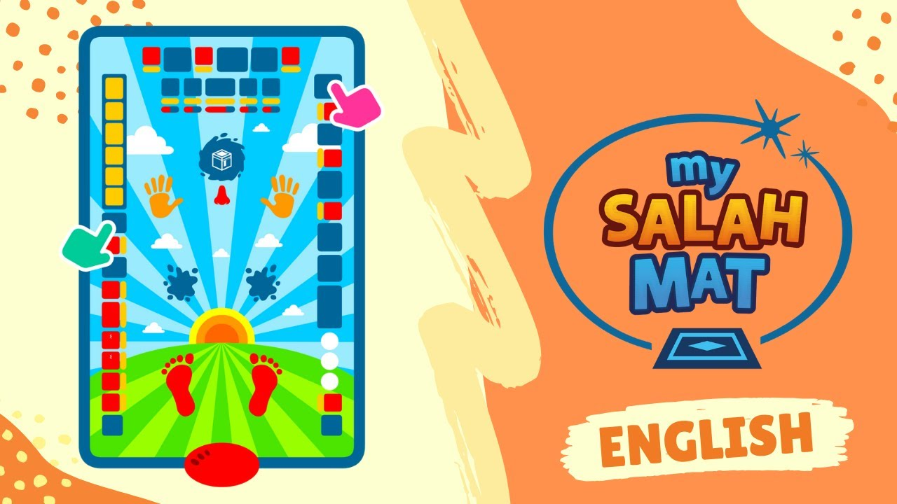 OumAlkora Salah Mat Educational Interactive Prayer Mat Islamic Children Teaching Learning Educational-My Salah Mat