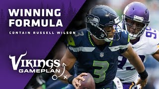 Winning Formula: How Can The Minnesota Vikings Rush and Contain Russell Wilson?
