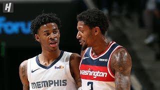 Washington Wizards vs Memphis Grizzlies - Full  Highlights | December 14, 2019 | 2019-20 NBA Season