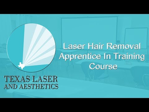Laser Hair Removal Apprentice In Training Course