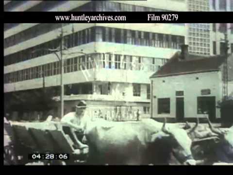 Belgrade, Serbia, Yugoslavia, 1930's -- Film 90279