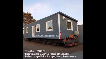 Talovaunu mobile homes 2018