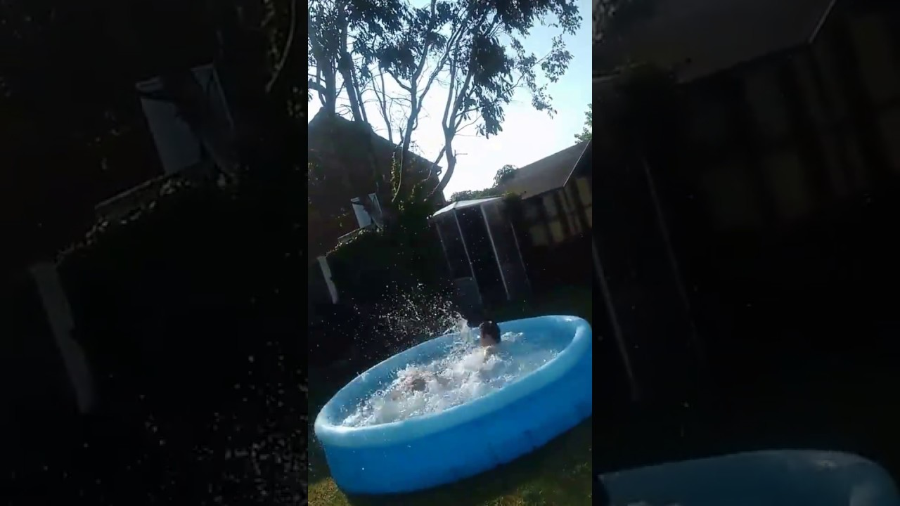 Epic jump into pool youtube for Epic pool show