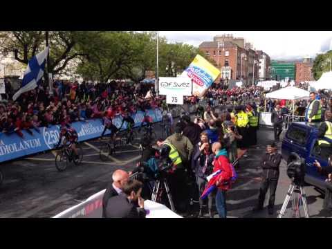 Giro d'Italia Stage 3 Finish Dublin City