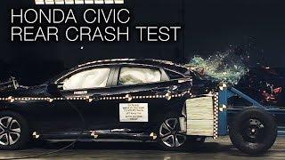 Honda Civic (2017) Rear Crash Test