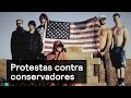 Protestas contra conservadores - Trump - Denise Maerker 10 en punto