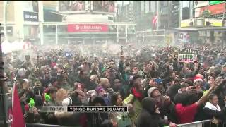 CTV Pot-fueled protest 420 Toronto