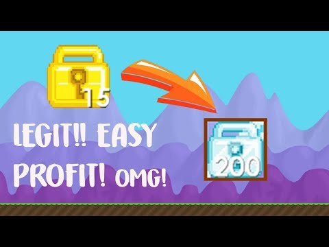 Growtopia | How to earn 100-200wls daily ? **LEGIT**