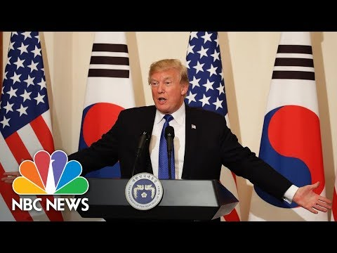 President Donald Trump To Break Unofficial Ronald Reagan Tradition On Asia Trip | NBC News
