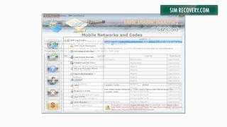 SIM card data recovery software restore deleted SMS repair corrupted data files Simrecovery.com