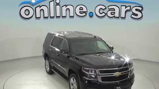 A98452CT Used 2015 Chevrolet Tahoe LS 4WD SUV Black Test Drive, Review, For Sale