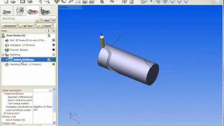 SprutCAM: 4th axis rotary milling