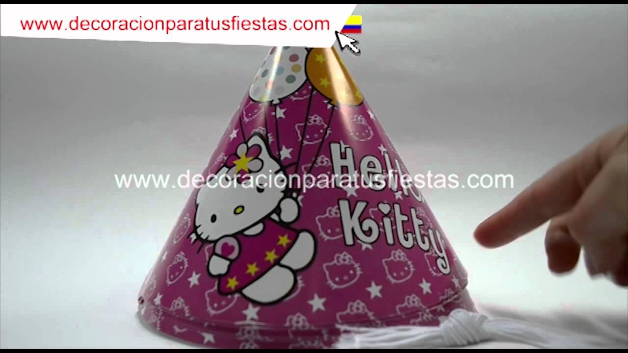 Gorros para decoracion fiestas infantil de cumplea os con - Adornos fiesta de cumpleanos ...