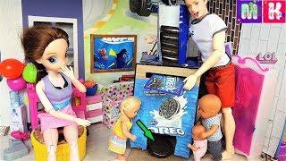 КАТЯ И МАКС ВЕСЕЛАЯ СЕМЕЙКА! ПАПА МОЖЕТ ВСЕ) ОРЕО ТОЛЬКО ИЗ АВТОМАТА) Мультики с куклами #Барби