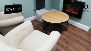 Pergo flooring -10% off January Sale