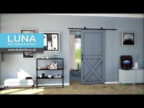 Barn Style Sliding Door Gear | Luna | Buller Ltd