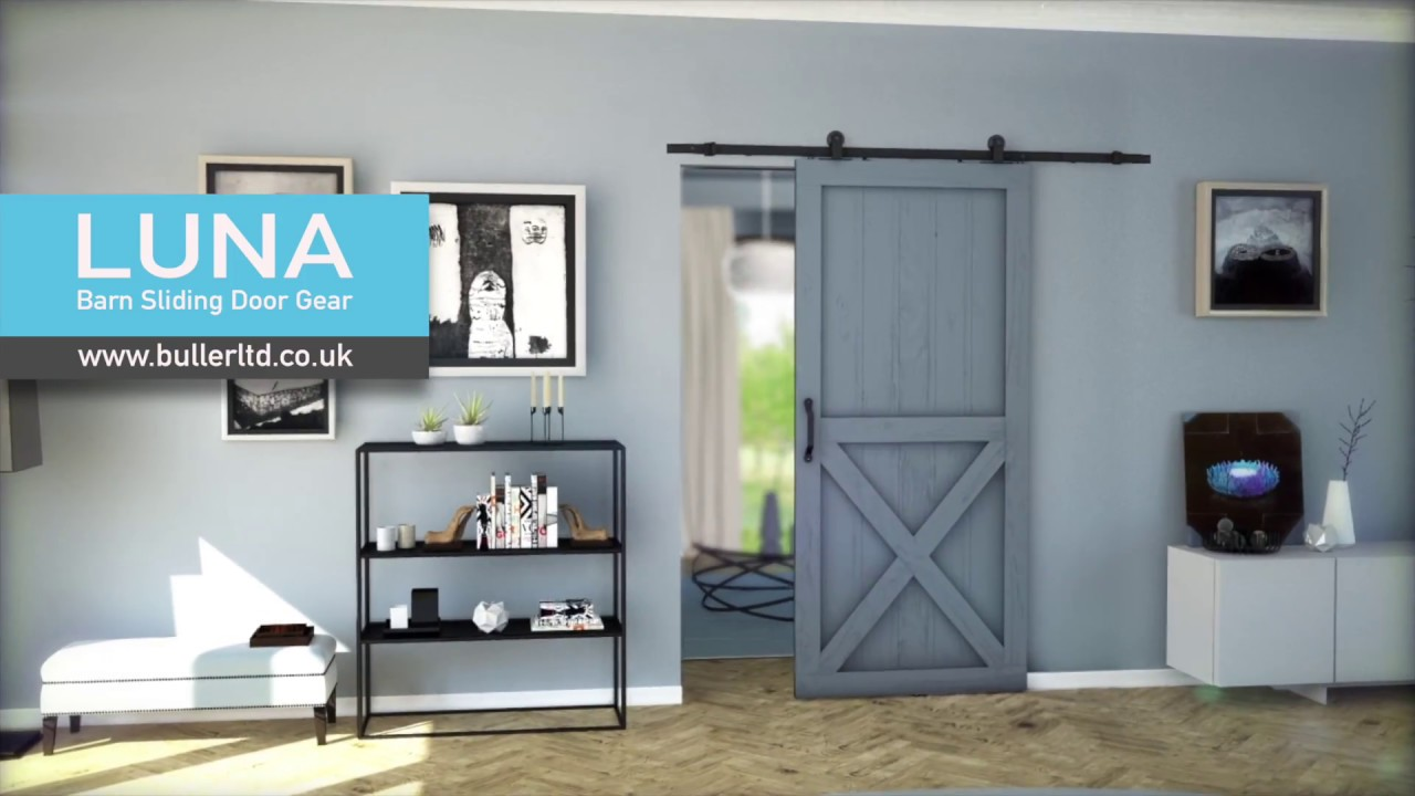 Barn Style Sliding Door Gear Luna Buller Ltd Youtube