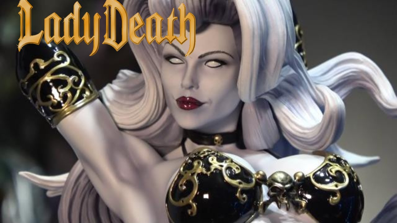 the temptation of lady death premium format� figure by