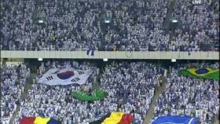 Al Hilal fans with different kind of flags 2017 Video
