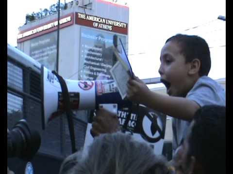 [Athens-28May10] - Israeli Embassy - Solidarity with Gaza and Ship to Gaza