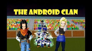 O CLÃ ANDROID | Roblox: Dragon Ball Z final stand
