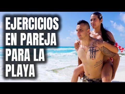 Ejercicios Para Hacer en La Playa en Pareja | Ser Fitness 💪
