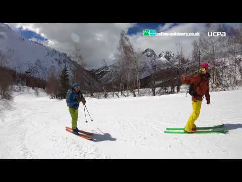 Electric Ski Touring With Action Outdoors & UCPA