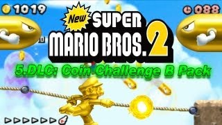 New Super Mario Bros. 2 - New Super Mario Bros. 2 Coin Rush Mode 5. DLC Coin Challenge B Pack