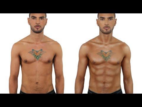 Full Body Male Makeup | John Maclean