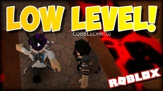 HELPING LOW LEVEL COMPLETE CHALLENGE MAPS!!! | Flood Escape 2 on Roblox #42 w/ COBBLECHRIS0