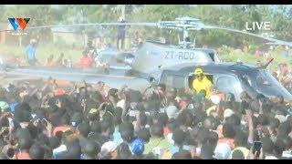 #LIVE : MSAFARA WA DIAMOND PLATNUMZ AKIWASILI KAHAMA KWA HELIC…
