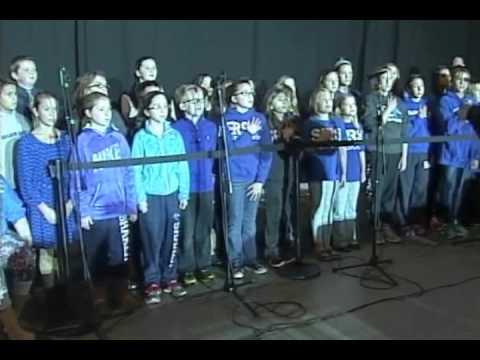 Shaker Road School - U.S. National Anthem - November 22, 2015