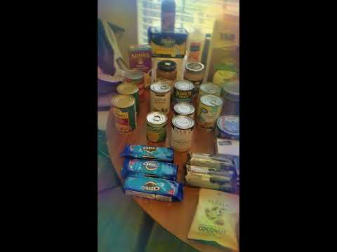 Once A Month Haul! Food Pantry Haul And Chat😍