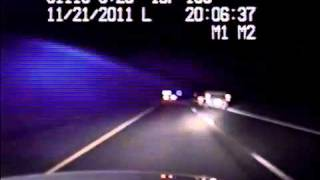 Raw video: Dash cam video of police chase that ends at WinnaVegas