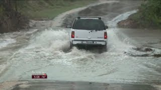 Hill Country slammed with heavy rain