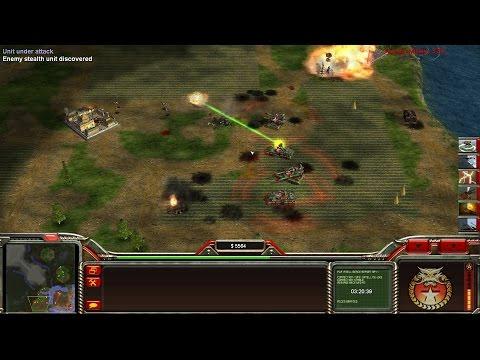 China Red Army VS 3 GLA Fortress - Operation Firestorm