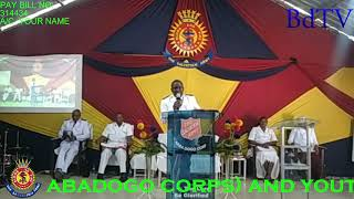 The Salvation Army bąbadogo Power in the name of Jesus Christ 24.10.2021