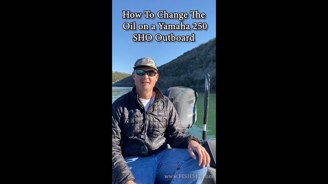 How to Change the Oil on a Yamaha Outboard by Yourself