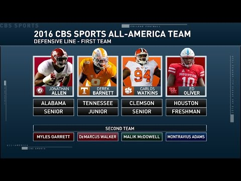 Inside College Football: All-American defensive linemen