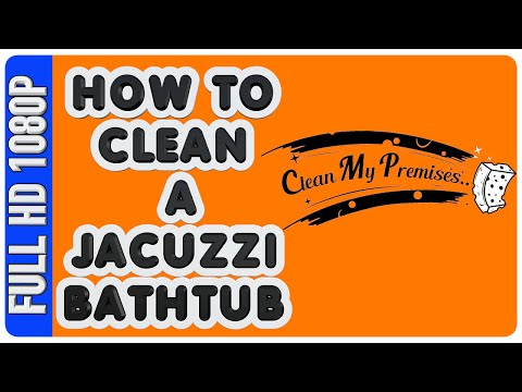How to clean a Jacuzzi Bathtub | Home Maintenance and Repair  | DIY: Jetted Jacuzzi Cleaning |