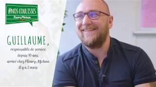 Guillaume vous présente le métier de responsable de service - octobre 2018