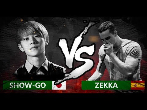 SHOWGO 🇯🇵 VS ZEKKA 🇪🇸  World Beatbox Classic  14 Final