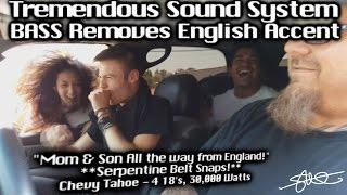 TREMENDOUS Loud Sound System BASS removes English Accent - Serpent Belt Snaps - 4 18
